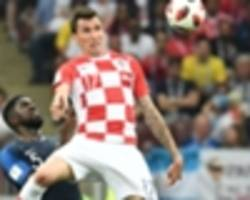 mandzukic makes world cup history with own goal against france