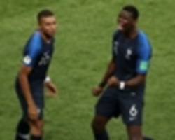 mbappe emulates pele with world cup final goal as pogba sets man utd first