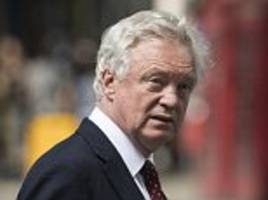 david davis accuses theresa may of 'astonishing dishonesty' in brexit plan