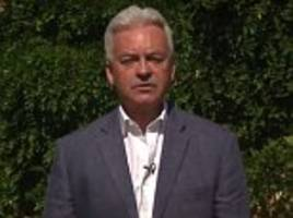 alan duncan says tory party could 'go down the plug hole'