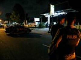 Indonesian police shoot terrorists who attacked officers with machetes