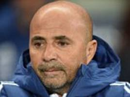 jorge sampaoli leaves argentina role after world cup horror show