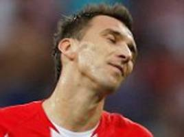 Mario Mandzukic first player to score an own goal at a World Cup final