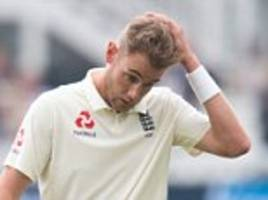 stuart broad on course to play in england's test series with india after ankle injury