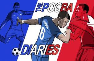 the pogba diaries: paul pogba celebrates after france wins the 2018 fifa world cup™