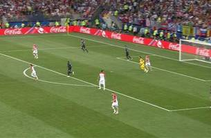 GRIEZMANN (France) has a shot which is on target