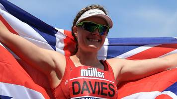 race walker bethan davies wins at welsh senior championships