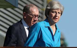chequers puts tories in perilous position as may's party sinks in the polls