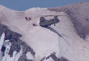 chinook pilot puts his badass skills on display during mountaintop rescue