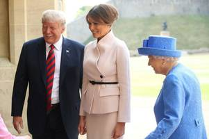 royal family 'snub' donald trump as prince william and charles 'refuse to meet' us president