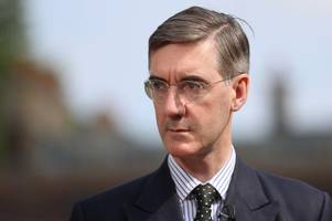 euro rebel jacob rees-mogg warns tory party will split if theresa may sticks to half-hearted brexit plan