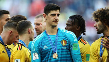 Belgium Goalkeeper Thibaut Courtois Wins the FIFA World Cup Golden Glove Award