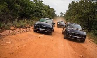 2019 porsche macan gets dusty in south africa, launches at the end of july
