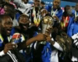 cameroon striker and benin defender on trial at tp mazembe