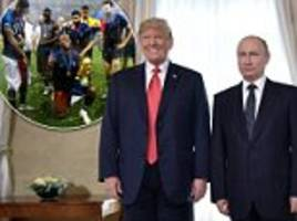They were 'really spectacular games': Trump congratulations Putin AGAIN on the World Cup