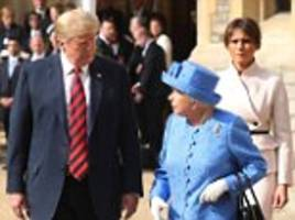 The Queen is 'beautiful' inside AND out says Donald Trump