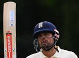 alastair cook makes unbeaten century for england lions ahead of india series