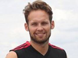 daley blind joins up with ajax squad ahead of £14m return