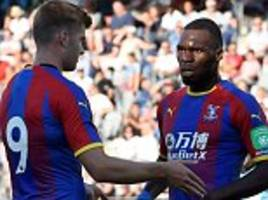 halmstads 1-6 crystal palace: eagles produce six of the best in sweden