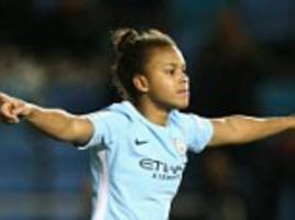Manchester City and England women's international Nikita Parris launches 'NP17 Academy'