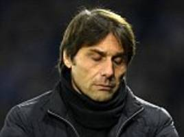 the slow death of antonio conte has made chelsea look ridiculous
