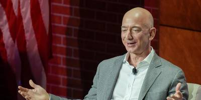 Amazon CEO Jeff Bezos is the richest man in recent history with a net worth of $150 billion, beating Bill Gates' record (AMZN, MSFT)