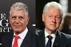 anthony bourdain calls out 'rapey, gropey' bill clinton in just-published interview