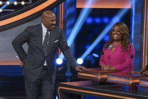 ratings: abc edges cbs with sunday game shows, like 'celebrity family feud'
