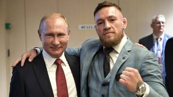 World Cup 2018: Conor McGregor sparks controversy with Putin photo