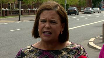 'we're not going to be intimidated' - mary lou mcdonald