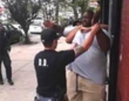 nypd plan to hold disciplinary hearing in four year old eric garner case derided as 'political theater'