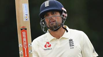 Alastair Cook: England batsman makes unbeaten century for Lions against India A