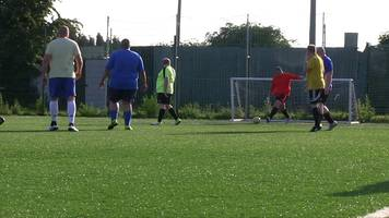 Man v Fat: Rotherham football league helps men lose weight