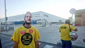 Amazon Workers In Europe Strike During Prime Day Sale
