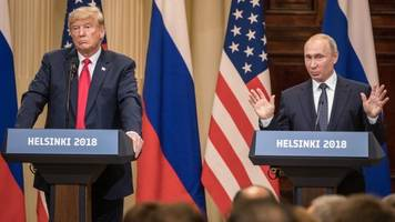 Trump, Putin Hold Joint Press Conference After Bilateral Meeting