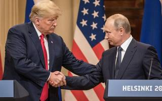 helsinki camaraderie: putin admits he wanted trump to win us election