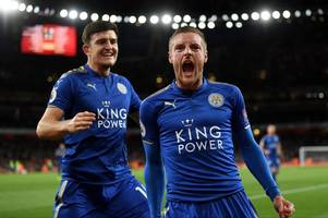 harry maguire and jamie vardy will be 'ready to go' for leicester city when new premier league season kicks off