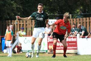 plymouth argyle striker calum dyson happy to play in number of positions for first-team football