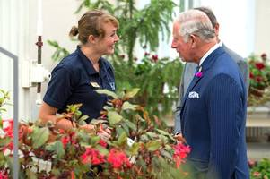 Prince Charles did NOT attend a Gloucestershire Police event on the day the Queen greeted Donald Trump alone