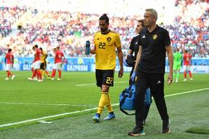 west brom winger nacer chadli helps belgium to third placed world cup finish - but suffers suspected hamstring injury