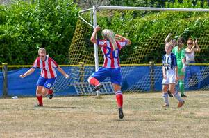 knuckey goal cancelled out but cheltenham town ladies show promise in friendly draw with west brom