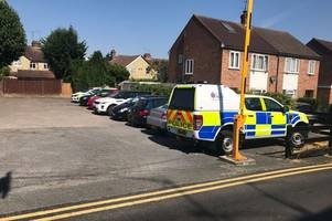 Chelmsford road 'blocked as police officers descend on house'