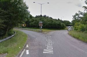 the a21 diversions in place through sevenoaks after a woman fell from a bridge