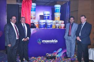 maestria paints from france launches eco-friendly paints in india