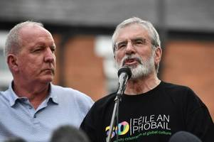 gerry adams tells 'new ira' a united ireland is on the way and nothing will deflect sinn fein from achieving it
