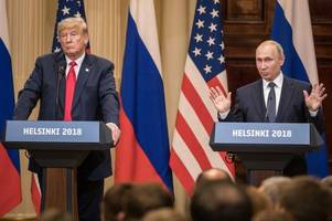 Vladimir Putin denies Russia interfered in US elections as he meets Donald Trump in Helsinki