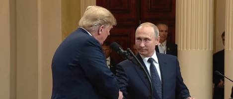 Trump's Remarks on Putin and the Russia Investigation