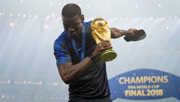 Paul Pogba is Only the Fourth Man Utd Player in the Club's History to Win the World Cup