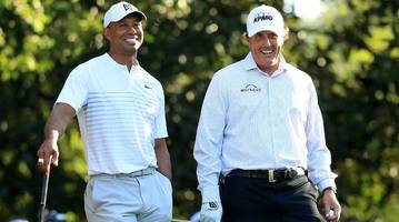tiger woods on phil mickelson matchup: trying to make it happen