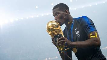 VIDEO: Paul Pogba Jokes With England Fans by Claiming 'It's Coming Home' After World Cup Final